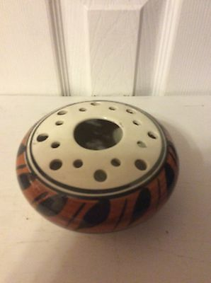 Jersey Pottery Vase Posey Bowl Cream And Tan
