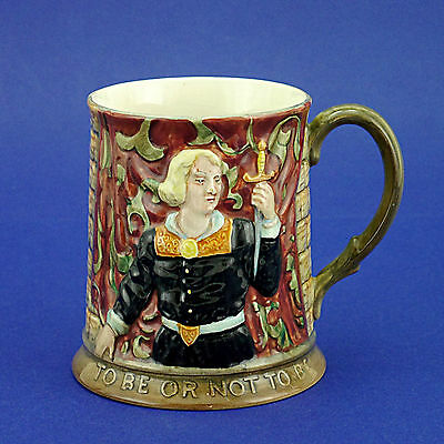 """Vintage Beswick Hamlet 'To Be or Not to Be' Tankard - 10cm/4"""" High"""