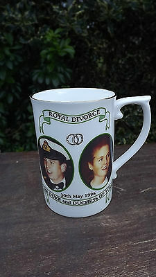 RARE 1996 Prince Andrew & Fergie Divorce Mug Limited EDition
