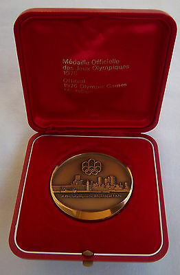 Orig.medal   Olympic Games MONTREAL 1976 // in Box  !!  A TRUE RARITY