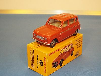 Dinky Toys (French) N0 518 Renault 4L car VNMB