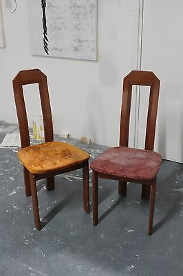 Art Deco pair of chairs