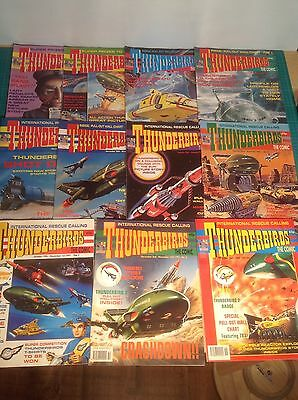 Thunderbirds Comics Mint Condition , With Badges