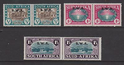 South Africa 1939 Set Monted Mint