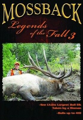 Mossback Legends Of The Fall 3 DVD NEW SEALED Elk Hunting