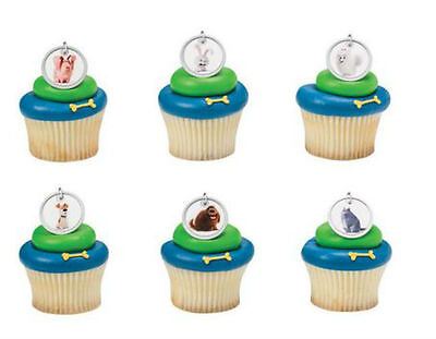 Football Helmet Bright Colors Cupcake Rings Party Favor Cake Topper 24