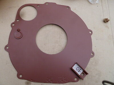 Military jeep G503 Willys MB rear engine plate