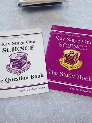 Cgp Key Stage 2 Science The Question And Study Books 2014 Ks1 Age 5-7 Years