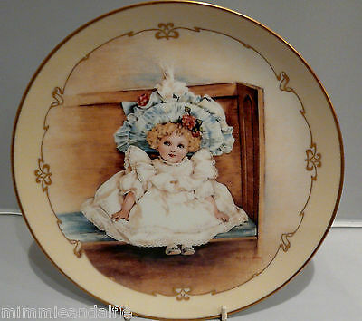 The Charm Of Victorian Children - Collectors Plate  - Sarah