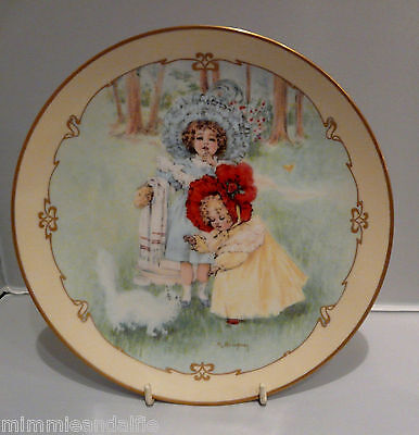 The Charm Of Victorian Children - Collectors Plate  - Kitty's Bath