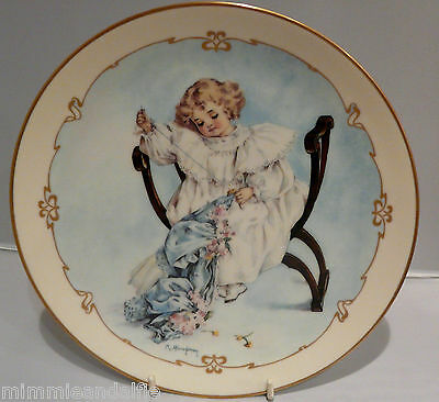 The Charm Of Victorian Children - Collectors Plate  - The Seamstress