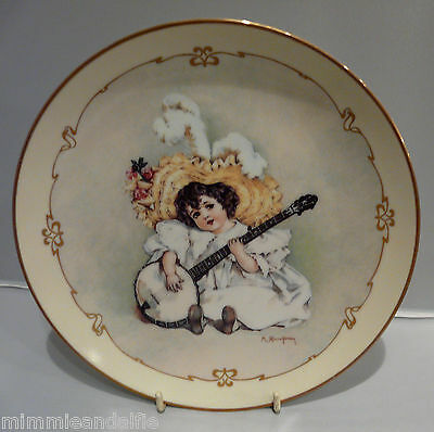 The Charm Of Victorian Children - Collectors Plate  - Susanna