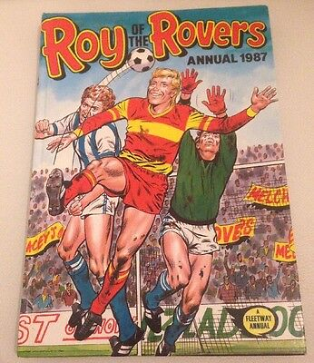 Vintage Roy Of The Rovers Annual 1987. VGC