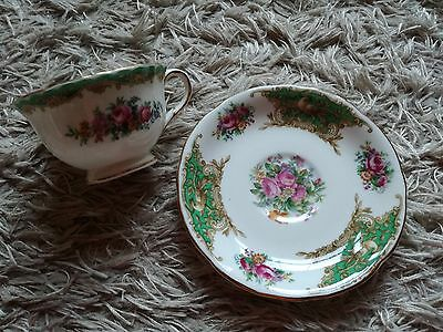 Foley Bone China Montrose Cup and Saucer