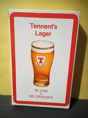 Tennent's Lager Beer Vintage Playing Cards