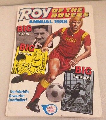 Vintage Roy Of The Rovers Annual 1988
