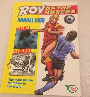 Vintage Roy Of The Rovers Annual 1989 VGC