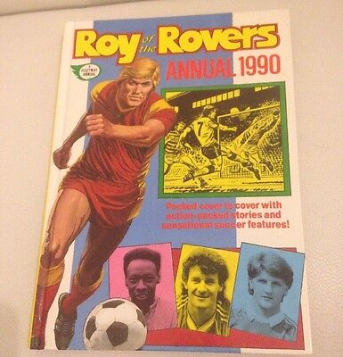 Vintage Roy Of The Rovers Annual 1990 VGC