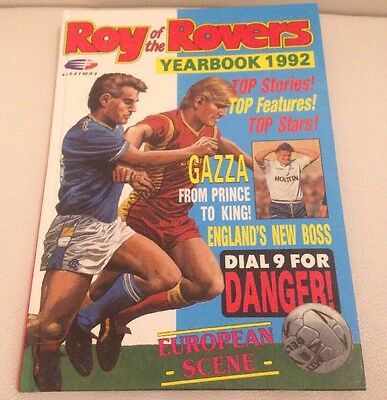 Vintage Roy Of The Rovers Annual 1992 VGC