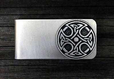 Celtic Cross Money Clip -Irish/Scottish/Handcrafted #1478