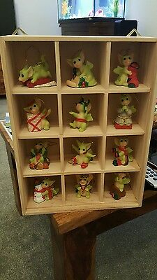 Pocket Dragon The 12 years of Christmas Limited Edition very Rare