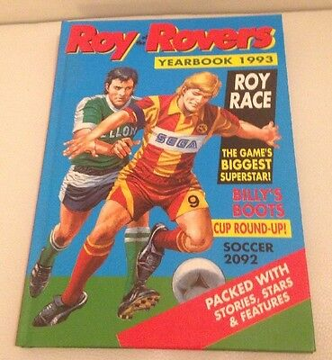 Vintage Roy Of The Rovers Annual 1993 VGC
