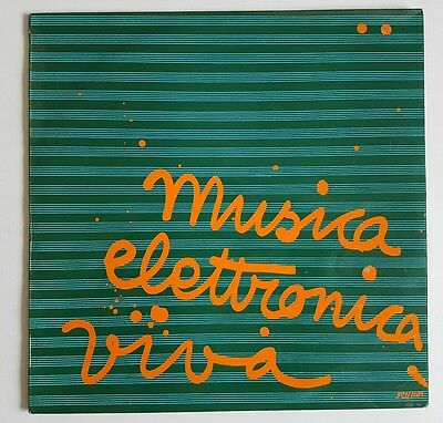 Musica Elettronica Viva ‎– Friday Ultra Rare Original 1st pressing EX