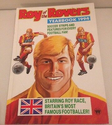 Vintage Roy Of The Rovers Annual 1994 VGC