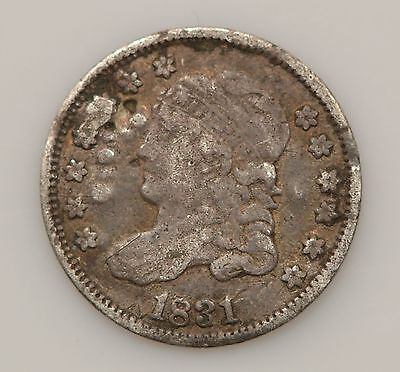 1831 Capped Bust Silver Half Dime *G36