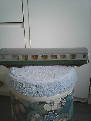 O gauge coach with aluminium body