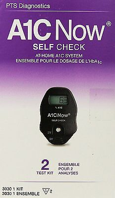Selfcheck 2 Test Kit Diagnostic Diabetes Blood Glucose Level Accurate 5 Minutes