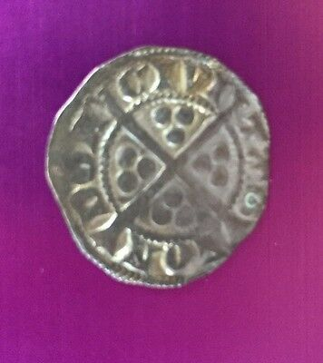 1280 A.D King Edward I - Longshanks medieval Period Silver Penny Coin - London