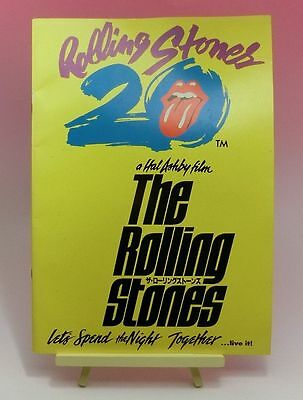 ROLLING STONES Let's Spend The Night Together JAPAN MOVIE PROGRAM BOOK 1983