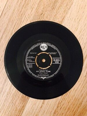 Elvis Presley - His Latest Flame Record Rare 1961