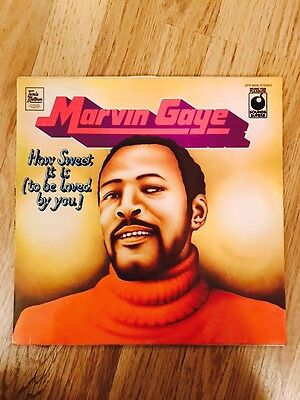 Marvin Gaye - How Sweet It Is (to Be Loved By You) Record Rare