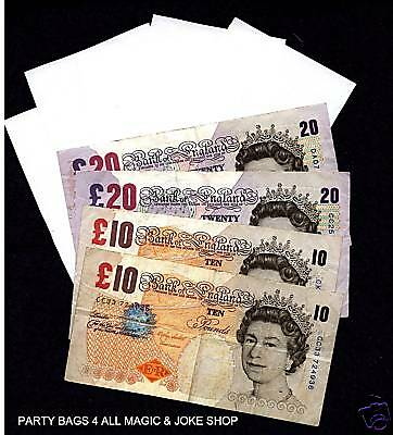BLANK PAPER TO REAL MONEY G8 Magic Trick Read description PC CDR **