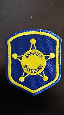 Andy Griffith TV Show - Mayberry Sheriff's Patch Prop Replica