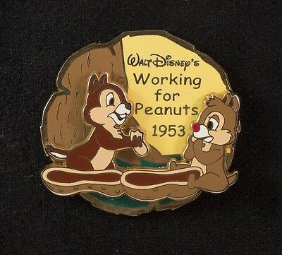 Disney Japan History of Art Chip Dale Working For Peanuts 1953 LE 1800 3D Pin