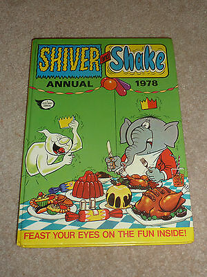 Shiver and Shake Annual 1979 - IPC Magazines - A Fleetway Annual