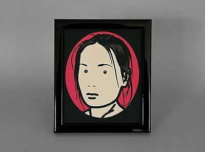 Julian Opie Hand Cut Paper Picture - Limited Edition!!