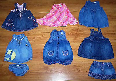 *NEXT* BUNDLE of BABY GIRLS CLOTHES *8  ITEMS* 0 - 3 MONTHS