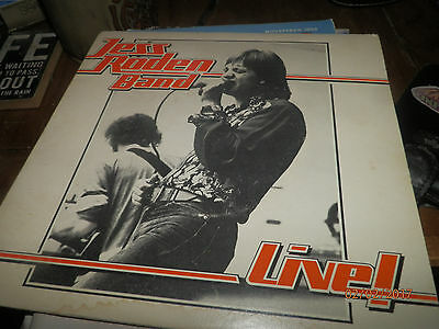 """Jess Roden Band  Live Single 7"""" Vinyl Pic Sleeve  ,can,t Get Next To You 1976"""