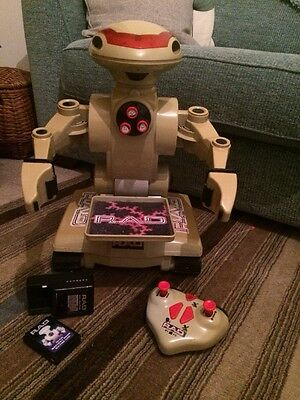Vintage Robot R A D 1980's Collectable Toy / Electronic Classic Space Vehicle