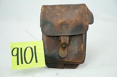 Ww2 Japanese Leather Map Case