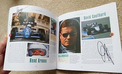 The One Hundred Greatest Racing Drivers With 31 Hand Signed Autographs