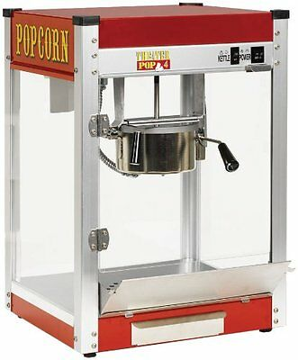 Paragon TP-4 Theater Pop 4-Ounce Popper Popcorn Machine...NEW