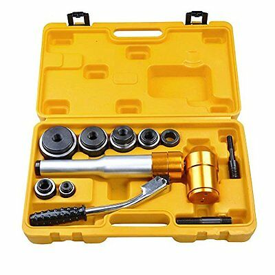 CHIMAERA 6 Ton Hydraulic Knockout Punch Driver Tool Kit with 6 Dies...NEW
