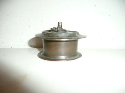 Solid Brass Inkwell.Antique,Writing tool. Calligraphy,Quill Pen.Excellent.