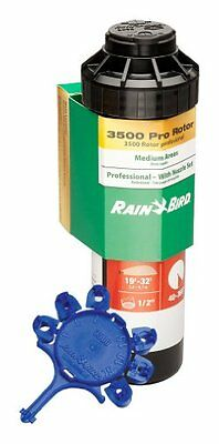 Rain Bird CP3504PC Pro Rotor with Pro Nozzle Set, 40° to 360° Pattern, 19'...NEW