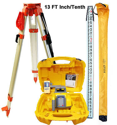 Spectra Precision LL300N-8 Self Leveling Laser Level with Tripod & 13 FT I/T Rod